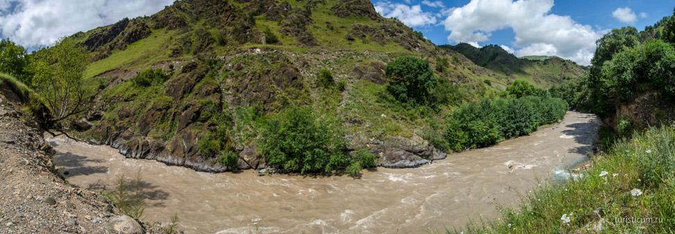 Гедмишх - Царские водопады