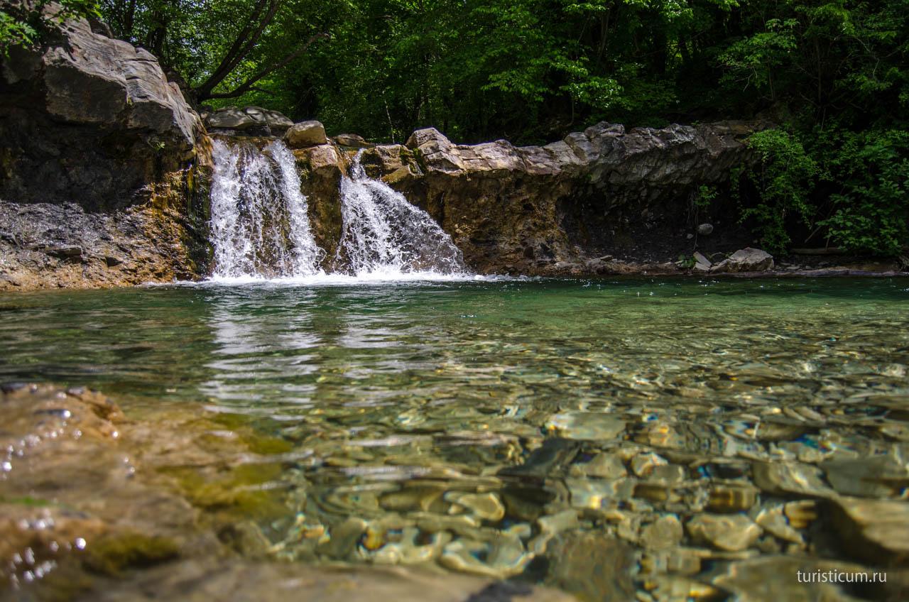 Водопад Геленджик