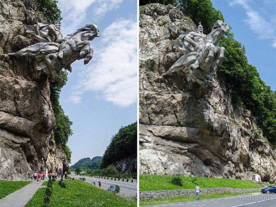 памятник Святому Георгию (Уастырджи)