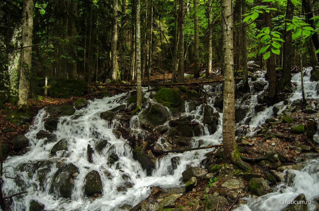 Картинки по запросу водопад « Шумка » домбай