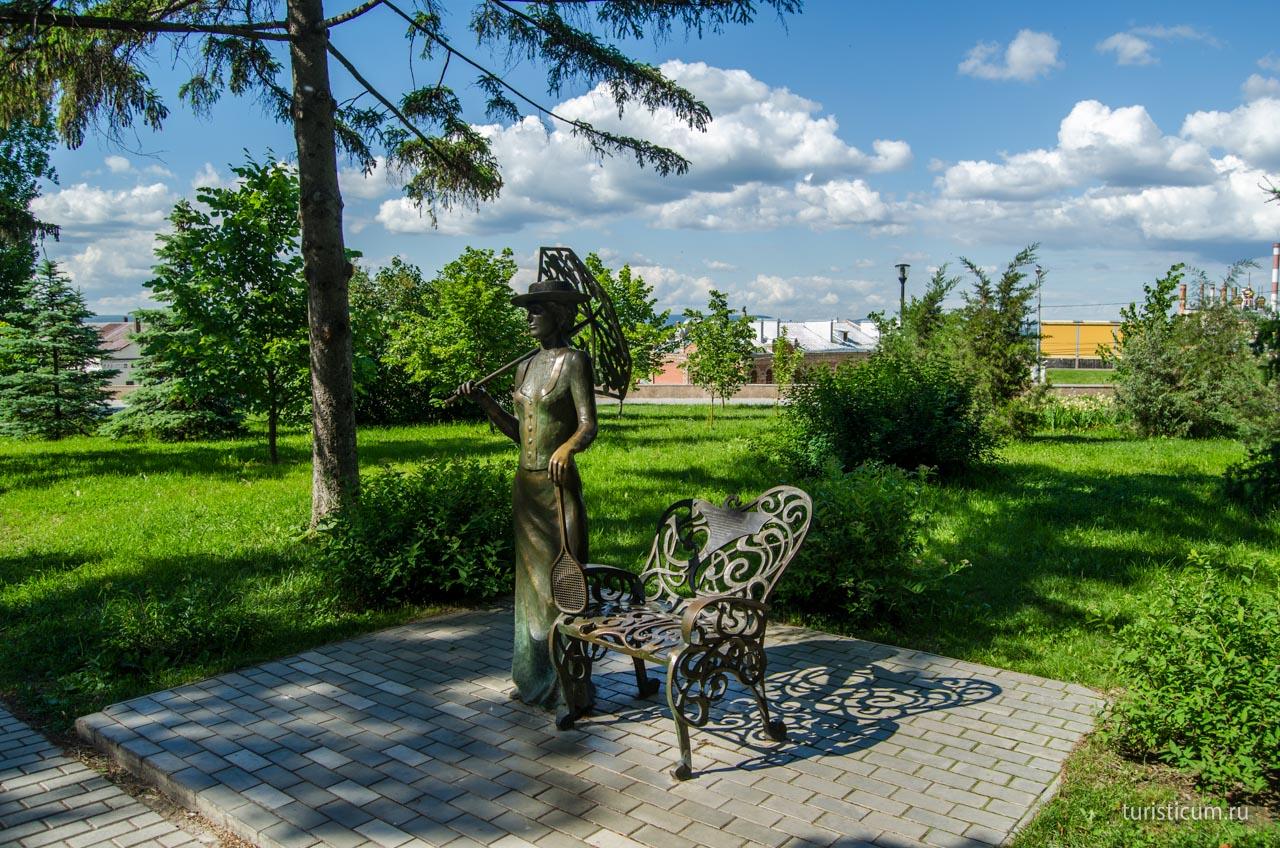 сквер Пушкина Самара