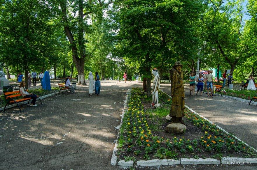 Струковский сад Самара