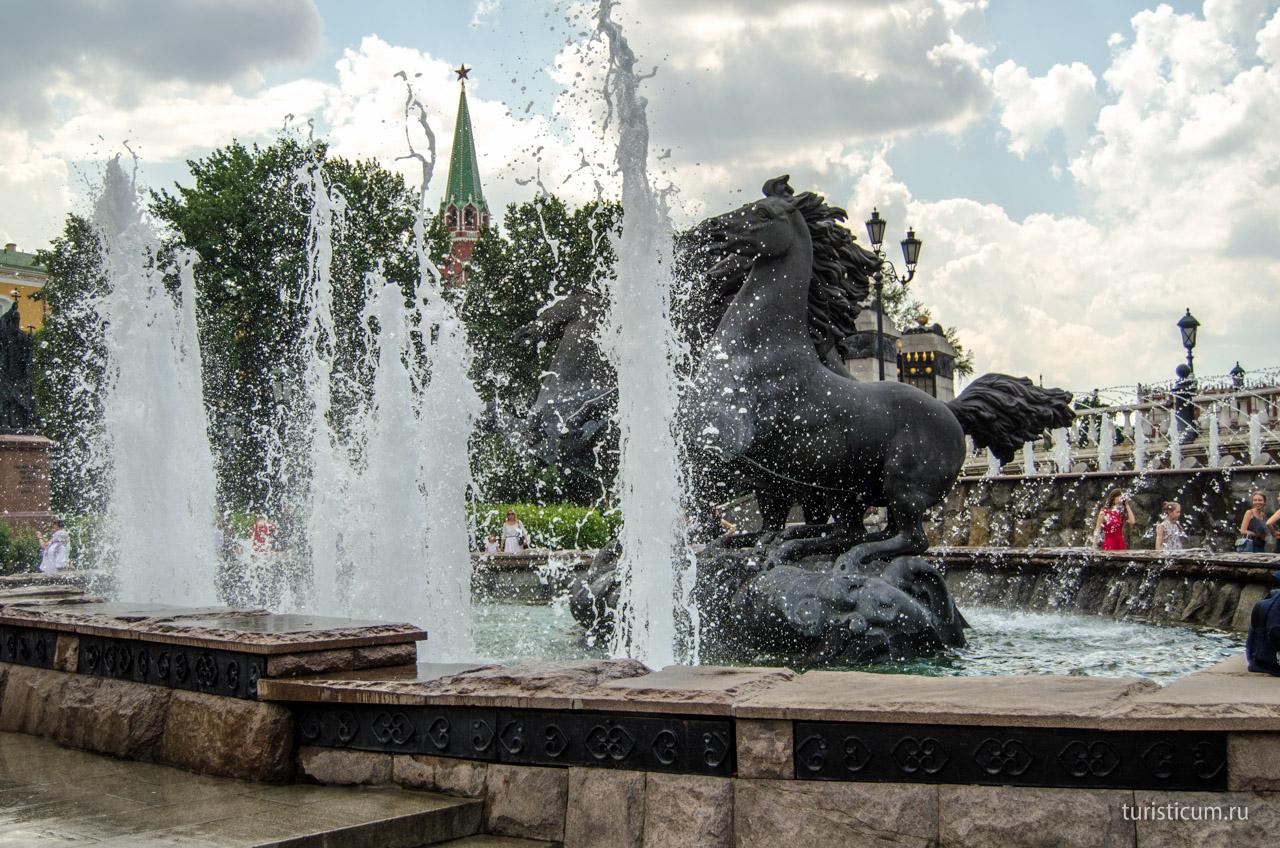 Лайф ньсекс в фонтане в центре самары