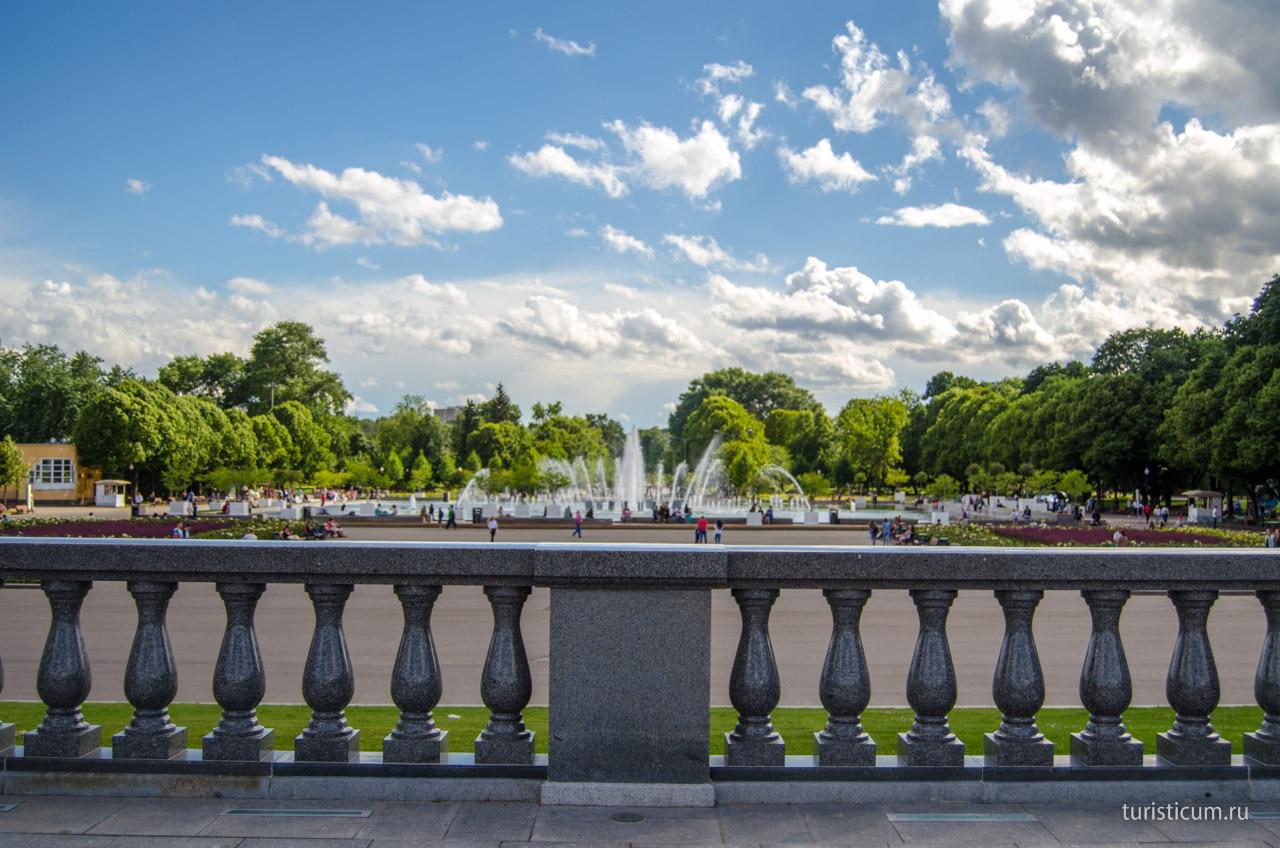 улучшения красивые фотообои парка горького в москве стен