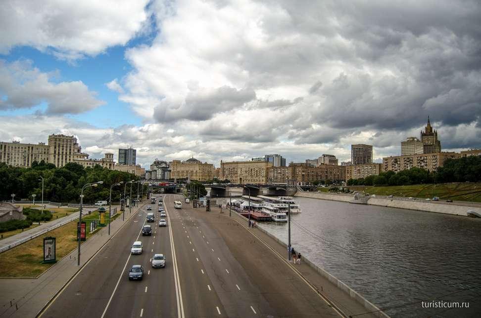 Пешеходный маршрут по Москве