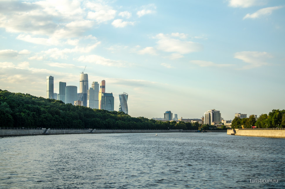 Moskva river trip