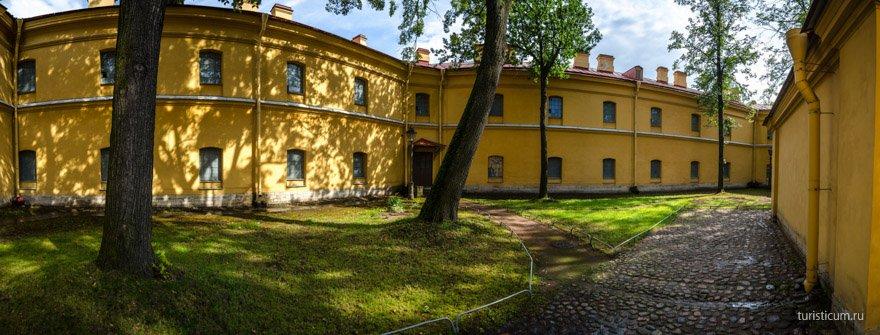 Тюрьма Трубецкого бастиона Петропавловская крепость
