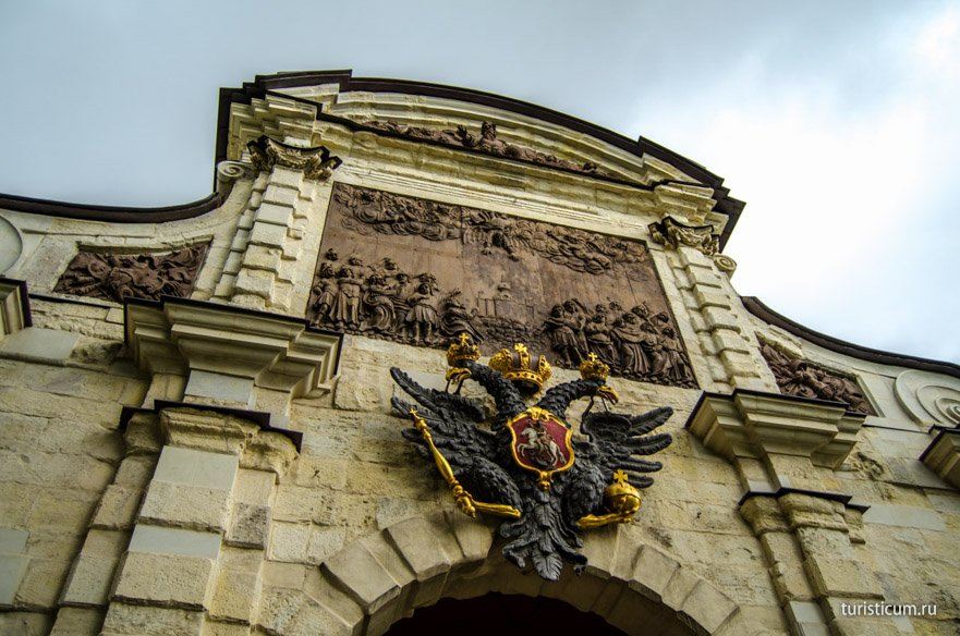Петровские ворота, Петропавловская крепость