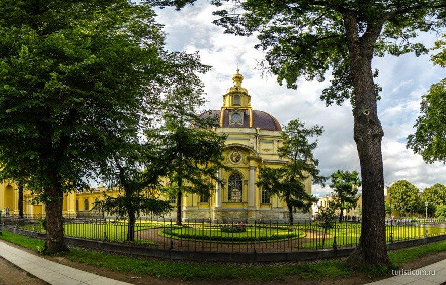Великокняжеская усыпальница Петропавловская крепость
