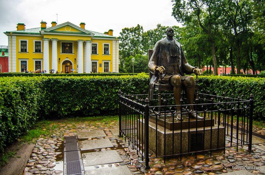 Петр I Петропавловская крепость