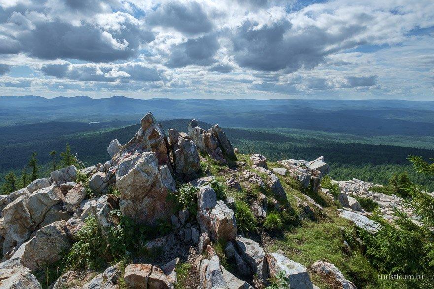 Голая Сопка | Хребет Зюраткуль | Южный Урал, маршрут, фото