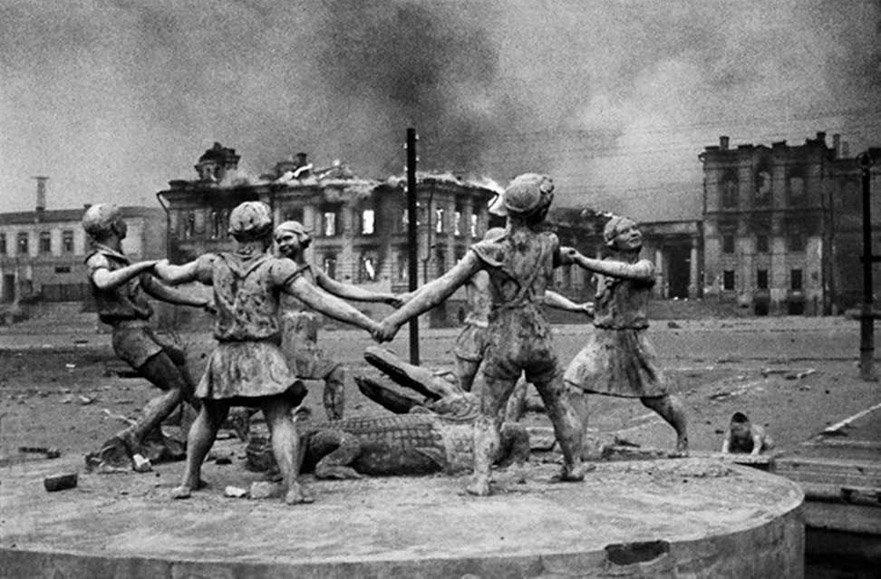 фонтан Бармалей - фото Э.Н. Евзерихин