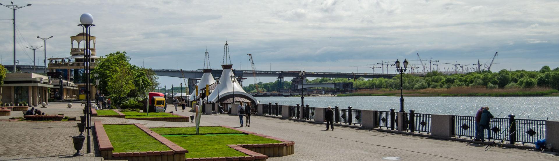 Набережная Ростова-на-Дону - одна из главных достопримечательностей города