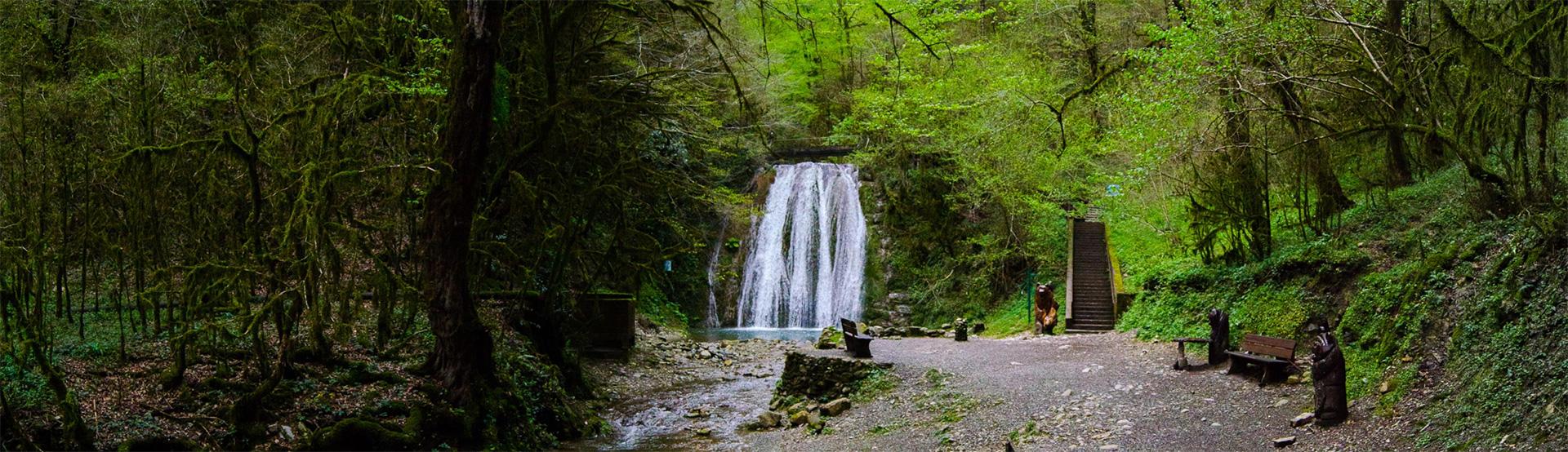 Ореховский и Ажекский водопады в Сочи: как добраться, фото